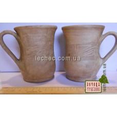 Чашка из глины чайная