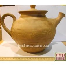 Чайник из глины 2 литра