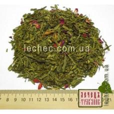 Зеленый чай с чабрецом и клубникой