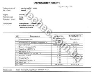 Сертификаты, протоколы испытаний - сканы