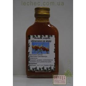 Живой сироп облепихи на меду