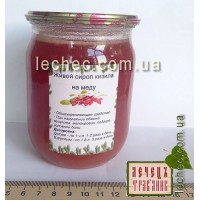 Живой сироп кизила на меду 500 мл
