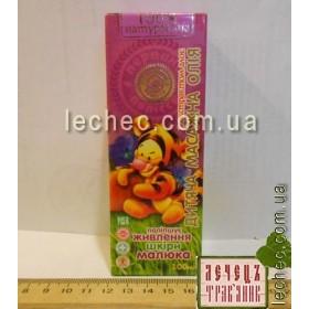 Детское массажное масло с экстрактом алое для улучшения питания кожи малыша