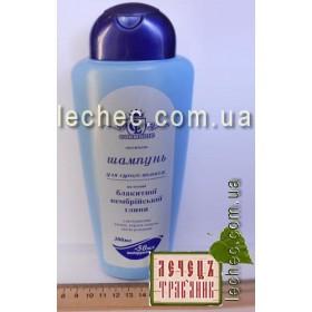 Шампунь для сухих волос на основе голубой кембрийской глины