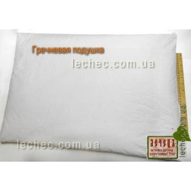 Гречневая подушка 60х40 см