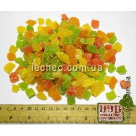 Ананас кубик цветной mix Китай (Ananas)