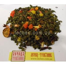 Чай Зеленая улитка с восточными фруктами